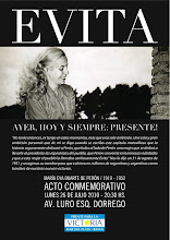 MARCHA DE ANTORCHAS CON EVITA