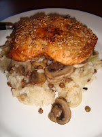 Fusion Risotto with salmon by Appetit Voyage