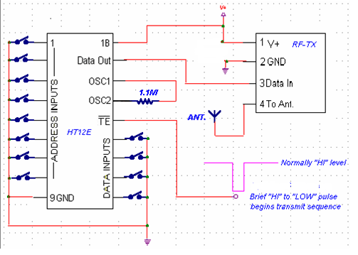 RF Controlled Home Appliance Circuit | Electronics Circuits and ...