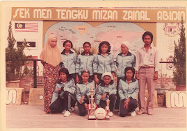 Me with Volleyball Team - STEMZA 1983