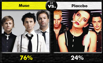 Muse vs. Placebo
