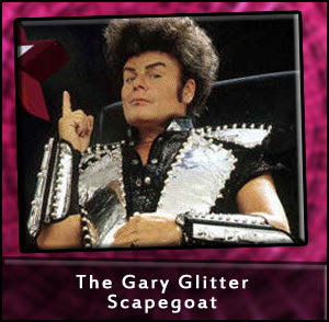 Gary Glitter Touches Kids