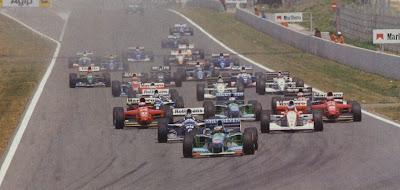 GP da Espanha de Formula 1, Catalunha em 1994 - continental-circus.blogspot.com