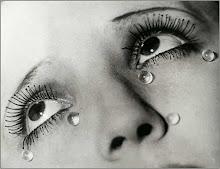Lágrimas que jorram.