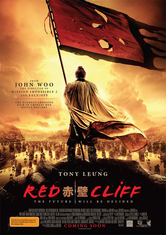 A Batalha Dos 3 Reinos [Red Cliff][2010 Red-cliff-poster