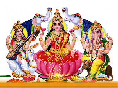 ganesha wallpapers. Laxmi Ganesh Wallpapers