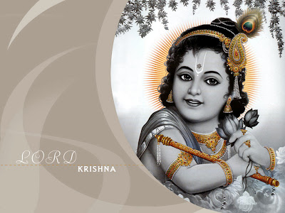 free wallpaper of lord krishna