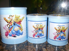 Latas turma do Pooh