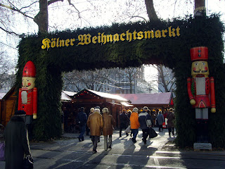 Christmas market at Neumarkt