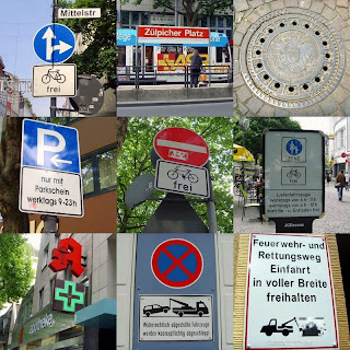 signs in Cologne
