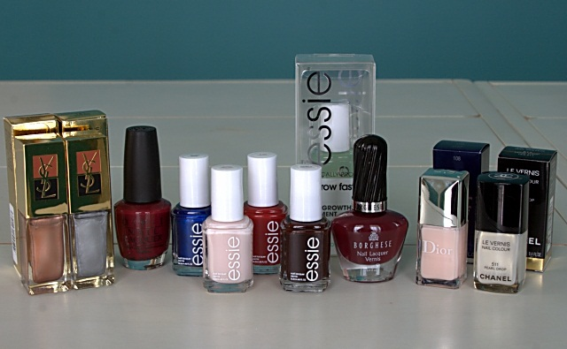 A bunch of luxe nail polish!