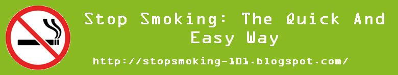 Stop Smoking 101