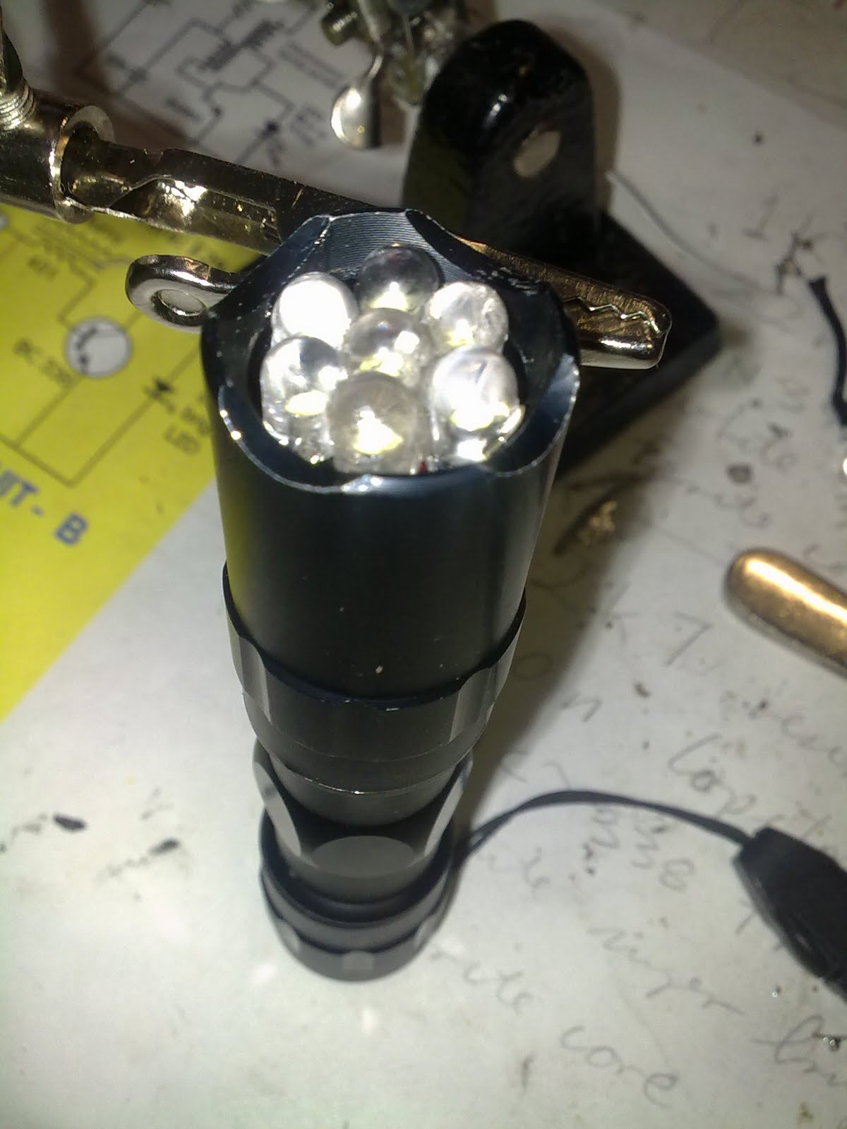 how to make a joule thief flashlight