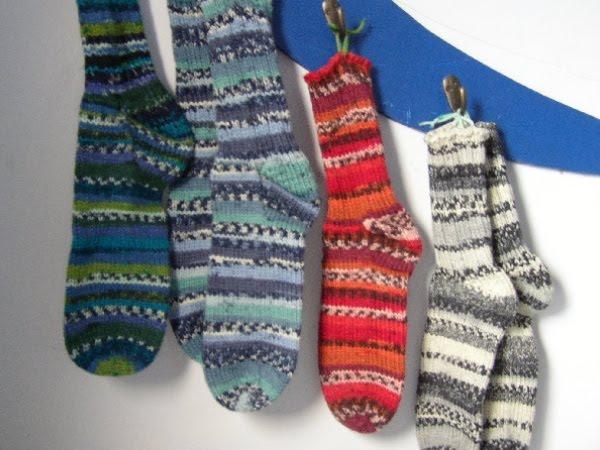 Knitting Socks Using Circular Needles : Janet knits stitches a creative life okanagan knitting