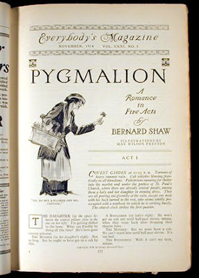 "pygmalion my fair lady and higgins Higgins - rex harrison alfred doolittle - stanley holloway col  and herman  levin) out of the wit of bernard shaw's old play, ""pygmalion,"" has now been  "" my fair lady"" in technicolor and super panavision 70 must clean up for warners."