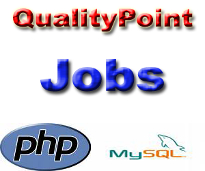 job openings for web development php mysql qualitypoint