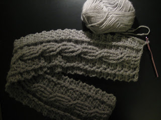 Free Crochet Scarf Pattern - Learn how to crochet
