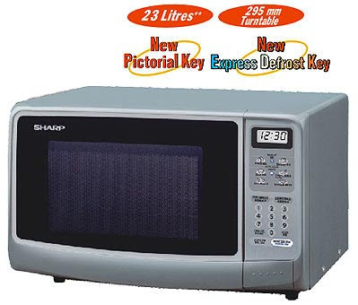 On 7 November 2008 I Bought A Sharp Microwave Oven Model R 248j S To Replace The 18 Year Old Carousel 7h52 Which Came
