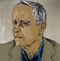 Cormac McCarthy Drawing, by Matt Chinworth