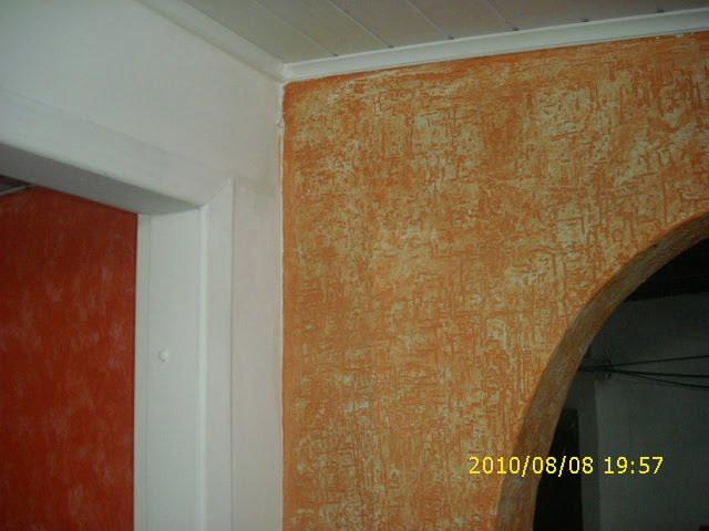 Clayton jesus pinturas paredes decorativas com aplica o de efeito em gel - Pinturas decorativas paredes ...