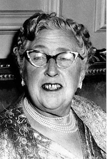 Agatha Christie in the '50s
