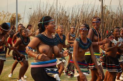 zulu women breast