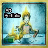 Visit My Art + Design Portfolio