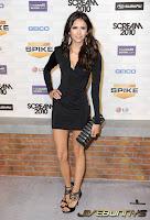 Nina Dobrev Vampire in a sexy little black dress