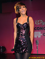 Frankie Sandford at kitkat concert