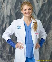 Eliza Coupe scrubs promos