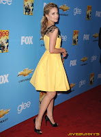 Dianna Agron glee promo event