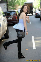 Elizabeth Gillies candid style photo shoot