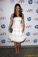 Mila Kunis white dress Eleventh Annual AFI Awards