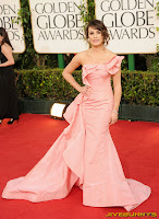 Lea Michele Golden Globe Awards
