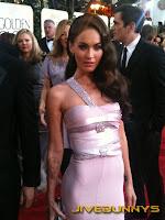 Megan Fox at the Golden Globe Awards