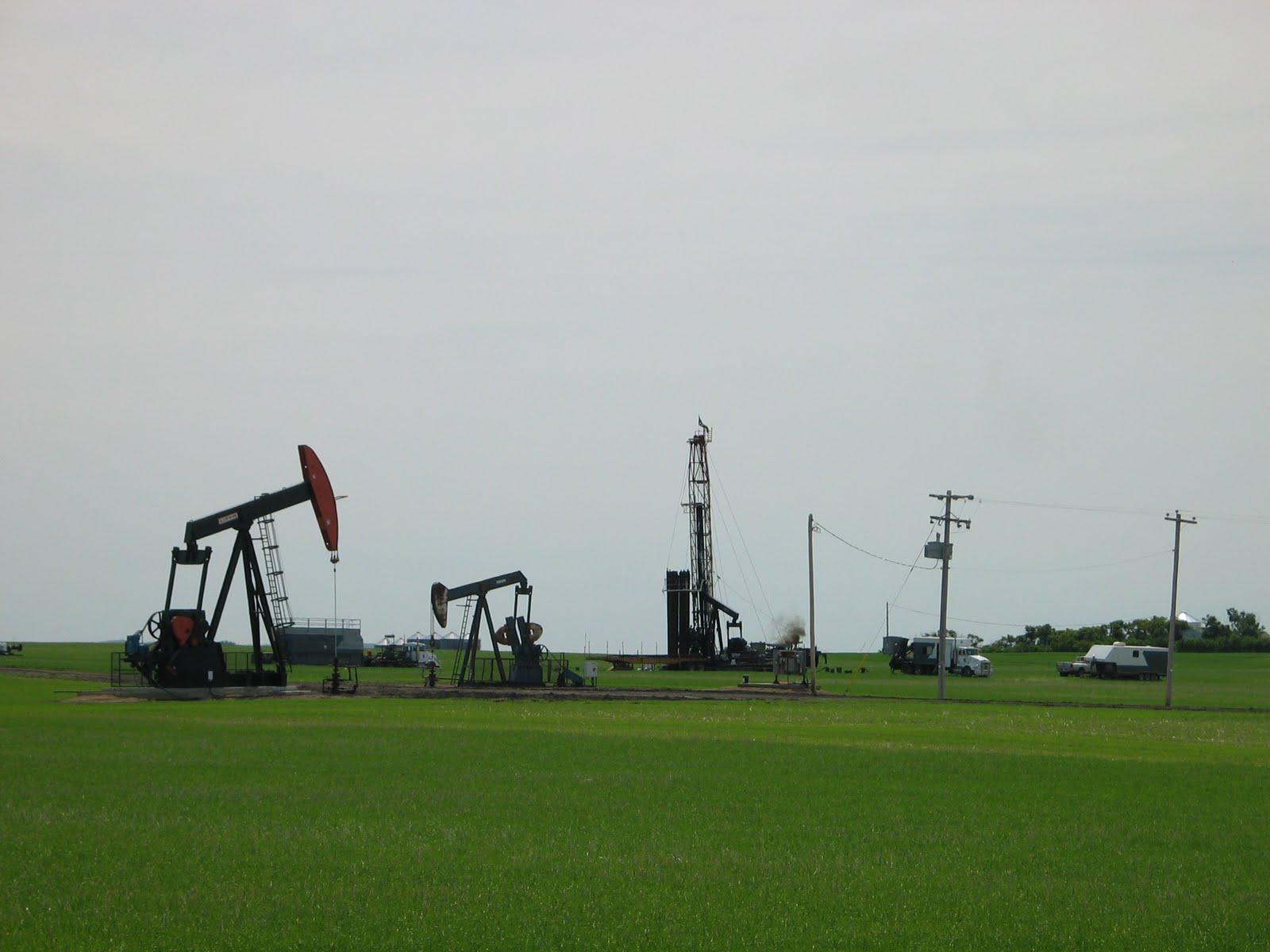 Ja knikkers' van de olieindustrie alberta 7135