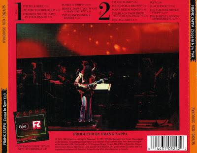 Frank Zappa S Revenge Zappa In New York