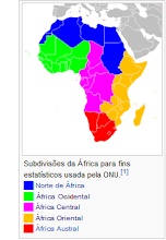 Subdivisões do Continente
