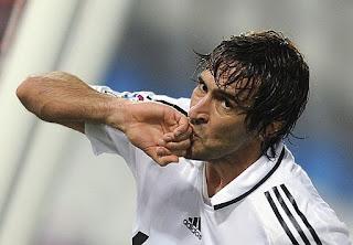 video resumen goles Almería Real Madrid Liga Española BBVA jornada 9, Raul celebra gol