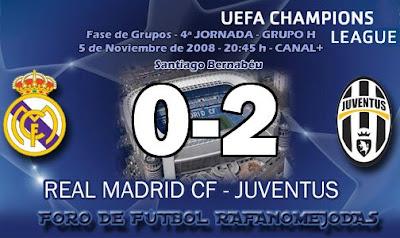 goles de del Piero video Real Madrid Juventus champions league