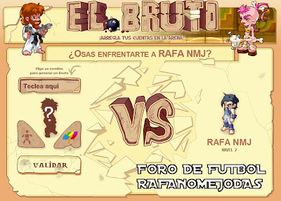 El Bruto, foro futbol Rafanomejodas, Rafa NMJ