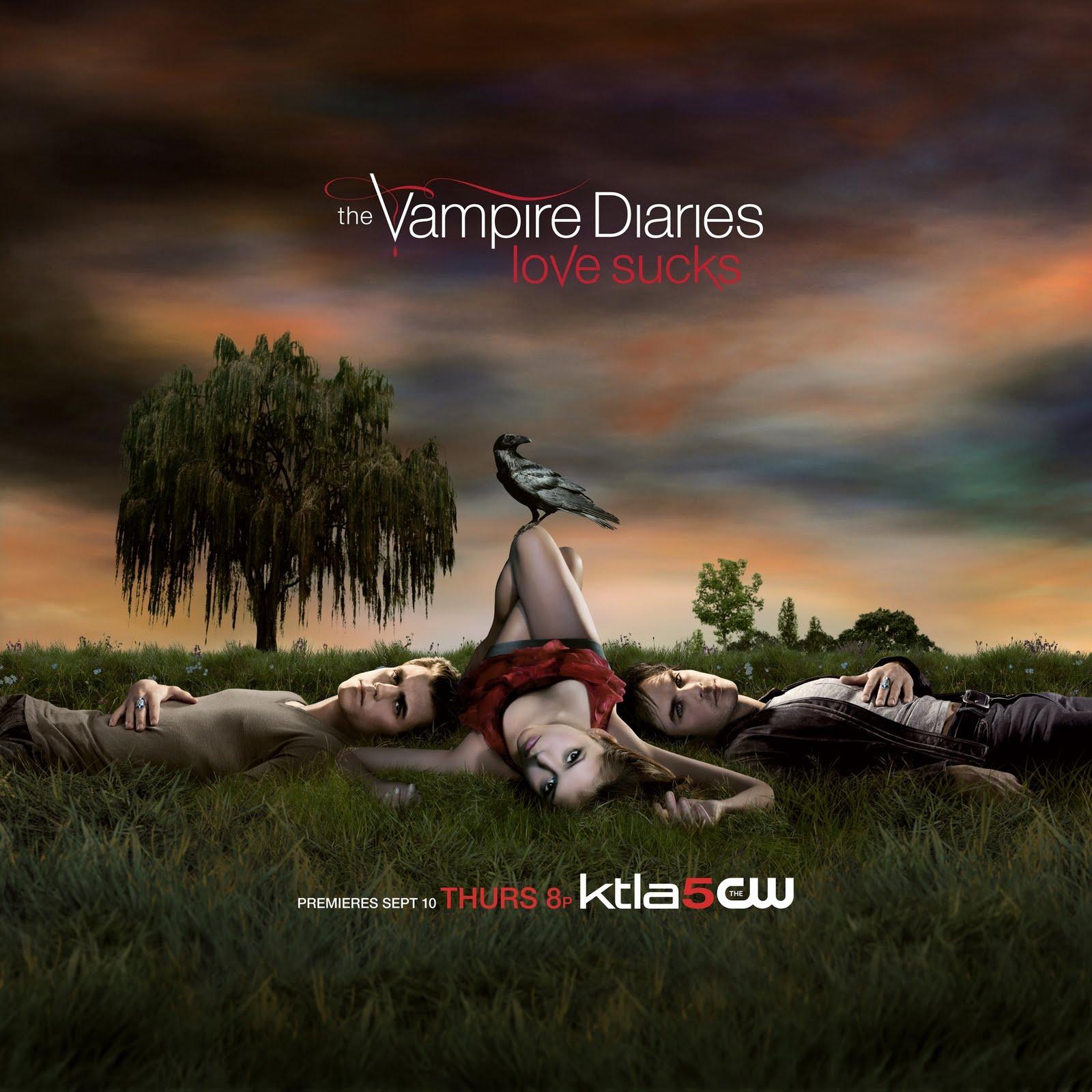 Diario de un vampiro - la serie de moda de vampiros
