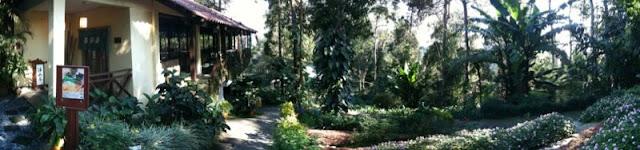 Panorma view at Japanese Garden - Bukit Tinggi, Pahang