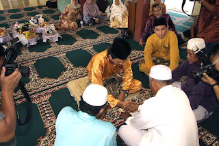 akad nikah (marriage contract) ceremony