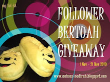 Follower Bertuah GiveAway~