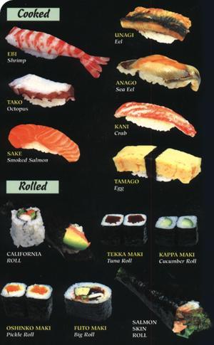 Caldeir o da s passo a passo para fazer sushi for 8 types of chinese cuisine