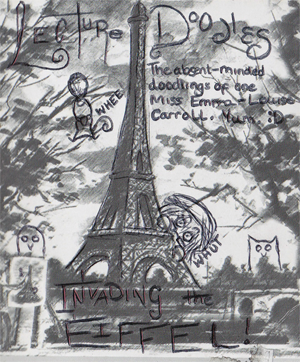 Lecture Doodles: Invading the Eiffel