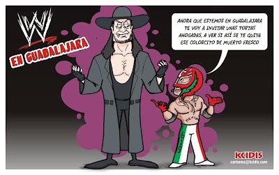 monoluchas de kcidis: La WWE llega a Guadalajara
