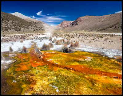 c-man/Varma källor i Bolivia
