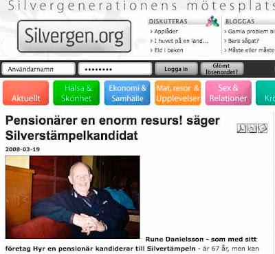 Silvergen.org - Mötesplats för seniorer på Internet